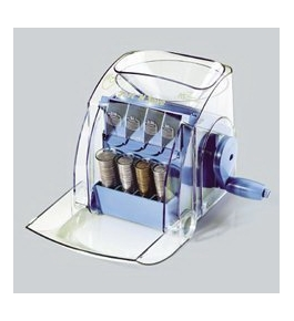 Royal Sovereign Sort 'N Save Manual Coin Sorter, Clear (MS-1)
