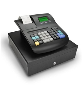 Royal 200DX Cash Register (200 dept., 5000 PLU, LCD Display, PC Connection, SD-card Slot, Thermal Printer, Fits US/Canada bills)