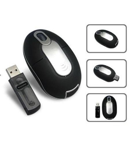 Royal 29528W Connect-ables 3-Button Wireless Optical Scroll Mouse