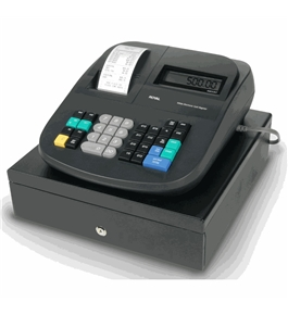 Royal 500DX 9 Digit Display Cash Management System with Premium Package (Includes 12 ink rollers and case of paper - 24 pack)