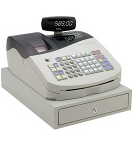 Royal 583cx RF Cash Register
