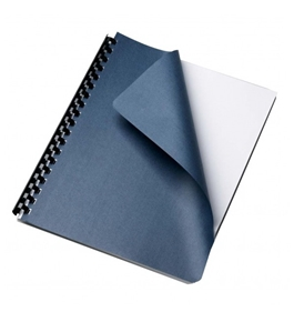 Grain Navy Paper Letter Size Binding Cover 25 Pack