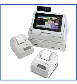 Royal TS4240 Touch Screen Restaurant Cash Register With Thermal Printer + Remote Kitchen Printer