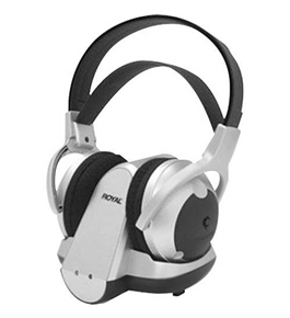 Royal WES50 900 MHz Wireless Stereo Headphone