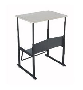 Safco AlphaBetter Desk, 28 by 20 Standard Top without Book Box [Kitchen]