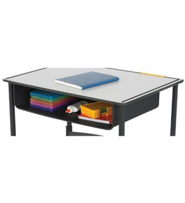 Safco Book Box for AlphaBetter Desk - Black