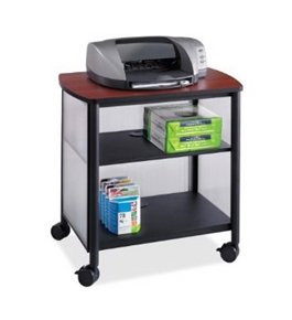 Safco Impromptu Machine Stand, Black (1857BL) [Office Product]