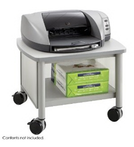 Safco Impromptu Under Table Printer Stand, Gray (1862GR) [Office Product]
