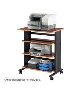 Safco M?V 2 Level Adjustable Printer Stand in Cherry