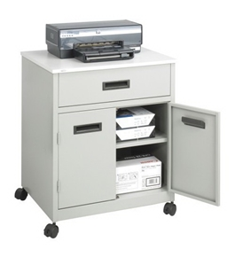 Safco Machine Stand with Drawer - 1870GR