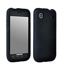 SAMSUNG Galaxy S VIBRANT T959 (T-Mobile) Black Gel Soft Skin Case