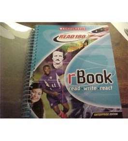 Scholastic Read 180 rBook Stage B Read, Write, React Student Book