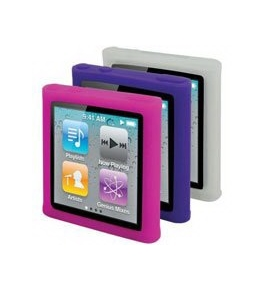 Scosche glosSEE 3-Pack Skins Screen Protector for iPod nano 6G [Electronics]
