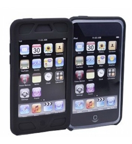 Scosche switchKASE t3 Hybrid Kickstand Case & Silicone Skin for iPod Touch 2n...