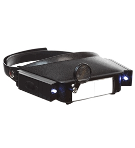 SE - Headband Magnifier - LED Illuminated, Dual Acrylic Lens