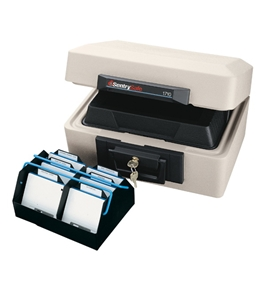 SentrySafe 1710 Fire Data Storage Chest