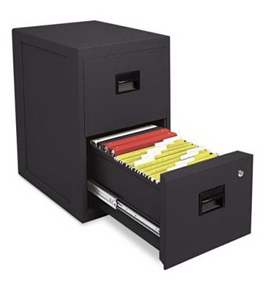 SentrySafe 6000B 2-Drawer Office Fire File Black