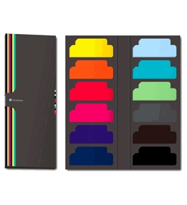 Semikolon Sticky Tab Markers, Assorted Colors (5100002)