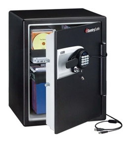 SentrySafe QE5541 Water-Resistant Fire Safe