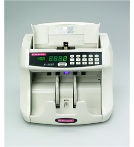 Semacon S-1415 Table Top Bank Grade Currency Counter with Batching, UV Counterfeit Detection
