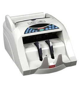 Semacon S-1125 Table Top Heavy Duty Currency Counter with Batching, UV/MG Counterfeit Detection