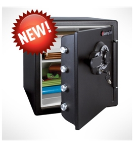 SentrySafe SFW123DEB Combination Fire-safe