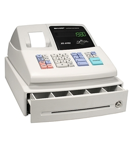 Sharp XE-A102 RF Cash Register FREE SHIPPING! PLUS free supplies