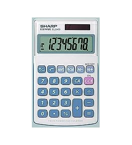 Sharp EL-240SB 8-Digit Business/Handheld Calculator