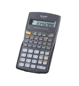 Sharp EL-501V 10-Digit Direct Algebraic Logic Calculator