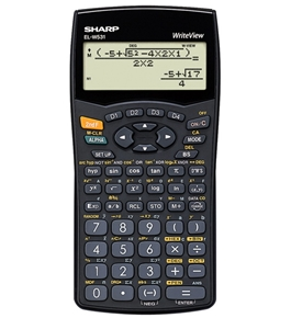 Sharp ELW535 Write View Scientific Calculator