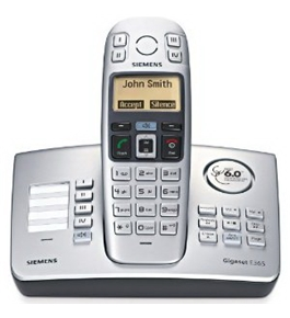 Siemens Gigaset Digital Cordless Phone with Emergency Dial (GIGASET-E365)