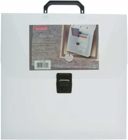 Smead Retrospect 12 x 12 Project Tote, Frost, 1 Each (71690)
