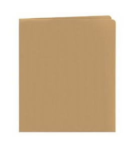Smead Two Pocket Folder, 100% Recycled, Letter Size, Limestone, 25 per Box (87902)