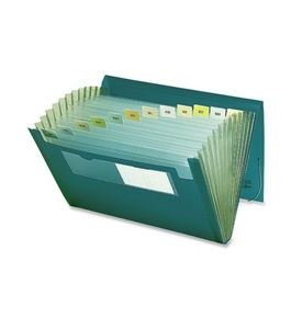 Smead Ultracolor Expanding Files, Letter Size, 12 Pockets, Green (70878)