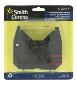 Smith Brand 'K' Series 2-BLACK CORRECT RIBBONS - SCM22200 [Electronics]