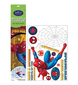 Spider-Man Birthday Removable Wall Decorations Party Accessory