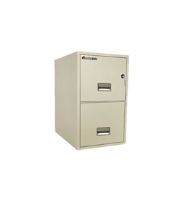 Sentry 2G2540 2 Drawer Fire And Water Resistant Vertical Legal File