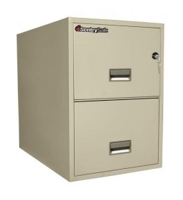 Sentry 2G3131 2 Drawer Legal - Fire, Water & Impact Resistant Vertical File Cabinet
