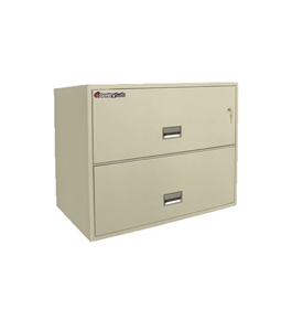 Sentry 2L3650 2 Drawer - Fire, Water and Impact Resistant