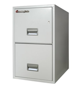 Sentry 2T2510 2 Drawer Letter - Fire and Impact Resistant