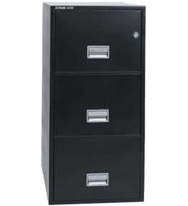 "Sentry 3G3131 3 Three Drawer 31"" Deep Fire And Water Resistant Vertical Legal File"
