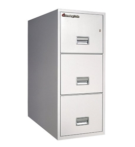 Sentry 3T3100 3 Drawer Letter - Fire Resistant