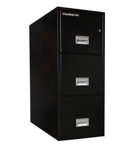 Sentry 3T3110 3 Drawer Letter - Fire and Impact Resistant