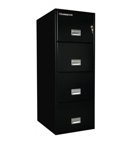 Sentry 4G2510 4 Drawer Legal - Fire and Impact Resistant