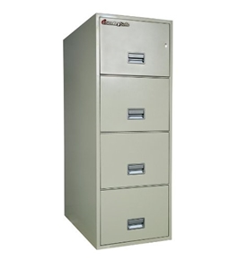 Sentry 4G3110 4 Drawer Legal - Fire and Impact Resistant