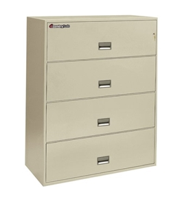 Sentry 4L4310 4 Drawer - Fire and Impact Resistant