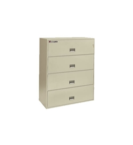 Sentry 4L4350 4 Drawer - Fire, Water and Impact Resistant