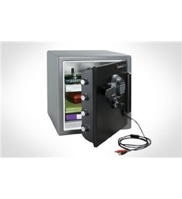 Sentry SFW123GTF Digital with USB Connection - Fire, Water & Impact Resistant, 1.23 cu. ft.