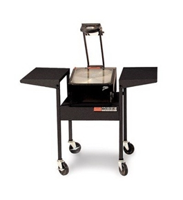 "Steel 29"" Standup Overhead Projector Cart"