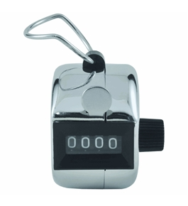 STEELMASTER Tally Counter, 2.75 x 1.5 x 2.75 Inches, Silver (200100492)